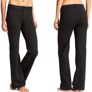 Athleta Black Ponte Classic Pants